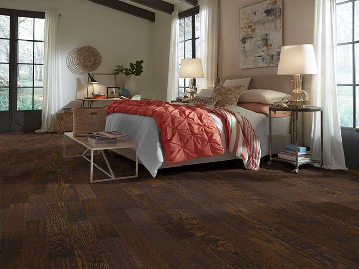 Hardwood Floors in Bedroom