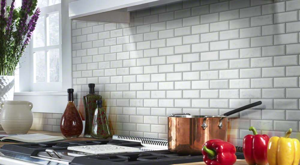 Ceramic Tile in Kitchen